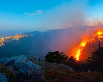 В лесах Крыма систематически находят закладки для организации пожаров