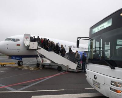Мужчина пытался долететь в Симферополь из Москвы голым (ВИДЕО)