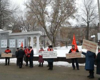 В Москве провалился митинг КПРФ в поддержку Грудинина