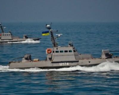 Украинские военные корабли стягиваются к берегам Крыма