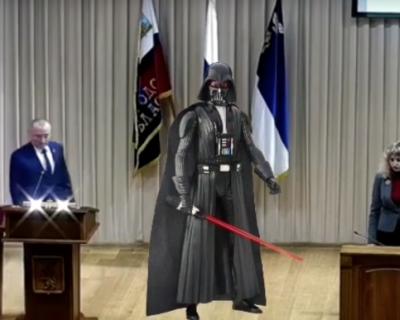 Российский мэр принял присягу под музыку из «Звёздных войн» (ВИДЕО)