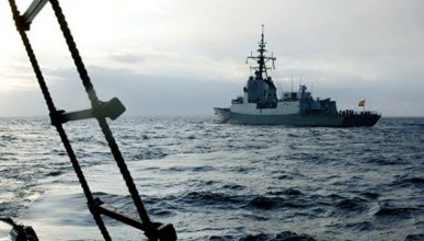 НАТОвские корабли зашли в Черное море (ВИДЕО)