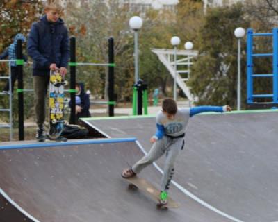 В центре Севастополя откроется молодежный скейт-парк