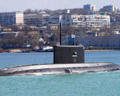 В Севастополе торжественно встретили подводников