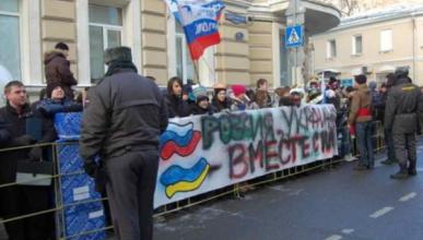В России прошли досрочные выборы президента Украины (ФОТО, ВИДЕО)