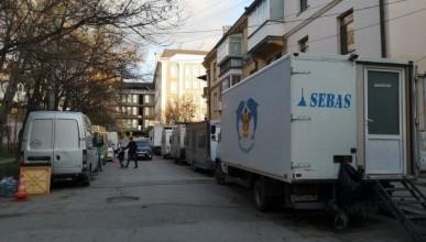 В крымской столице снимают детективный сериал (ФОТО)