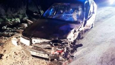 В Крыму из искорёженного автомобиля доставали молодого водителя