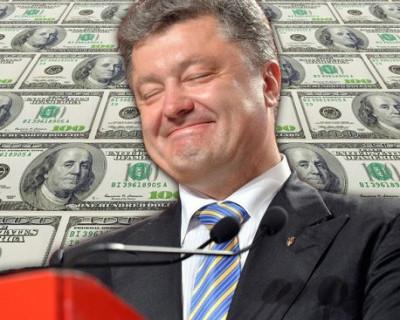 Сколько заработал Порошенко на посту президента Украины?
