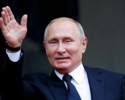 На открытие завода Mercedes-Benz Владимир Путин приехал на лимузине Aurus (ВИДЕО)