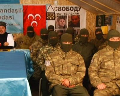 Война украинских банд