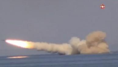 Черноморский флот РФ провёл ракетные стрельбы (ВИДЕО)
