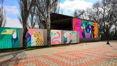 В Керчи разукрасят серые стены (ФОТО)