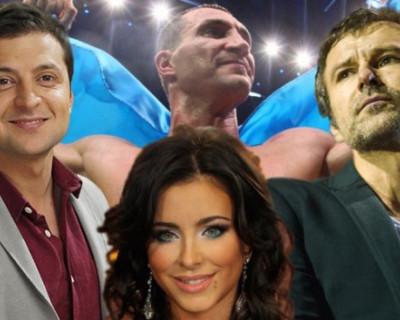 Как украинский шоубиз рассорился из-за выборов президента
