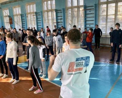Урок самообороны в Севастополе