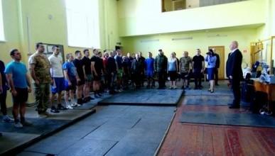 Севастопольские полицейские заняли второе командное место по гиревому спорту (ФОТО)