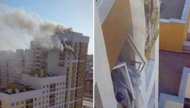 Взрыв раздался в жилом многоэтажном доме в Екатеринбурге (ВИДЕО)