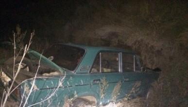 Спасаясь от аварии, водитель автомобиля «Жигули» улетел в кювет (ВИДЕО)