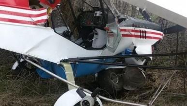 В Краснодарском крае рухнул частный легкомоторный самолет