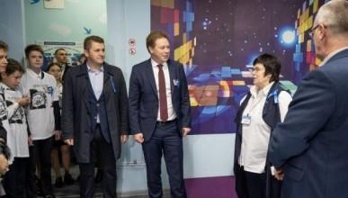 Дмитрий Овсянников посетил Аэрокосмический центр Антона Шкаплерова
