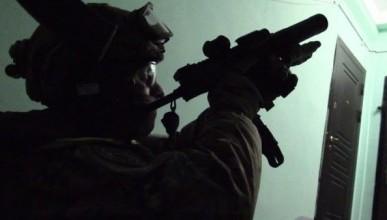 Видео с места спецоперации ФСБ в Тюмени