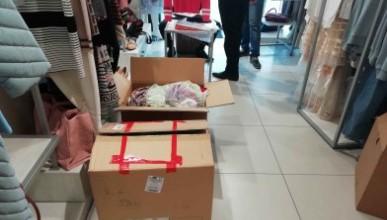 В бутиках Ялты торговали поддельной брендовой одеждой