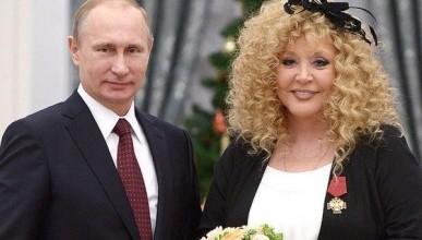 Владимир Путин поздравил Аллу Пугачёву с 70-летием
