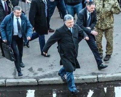 План побега Порошенко из Украины (ФОТО)