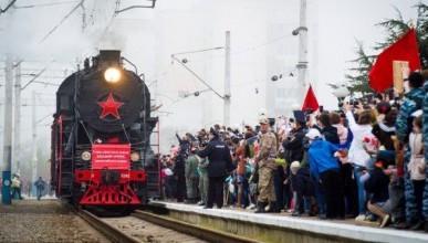 Когда в Севастополь прибудет поезд Победы