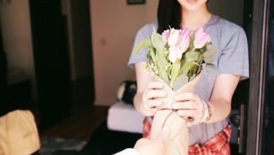 «Тюльпанная лихорадка» в Севастополе: девушка ночью обрывает цветы