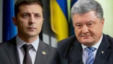 Россиянам покажут дебаты между Зеленским и Порошенко