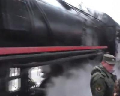 «Поезд Победы» прибыл в Севастополь (ВИДЕО)