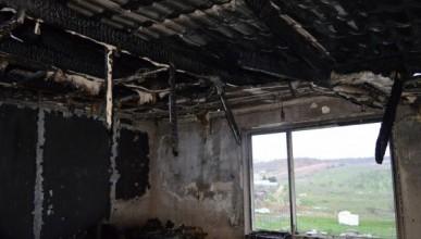 Пожар в Любимовке: горела кровля и несколько помещений