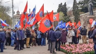 В Севастополе состоялся митинг в честь нового государственного праздника
