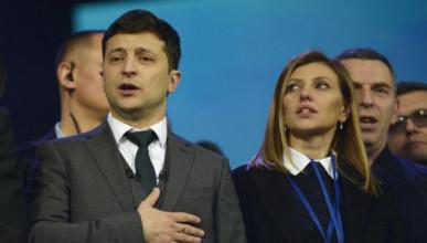 Жену Зеленского внесли на «Миротворец»