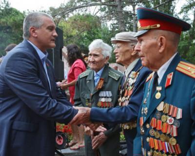 Выплаты ветеранам войны  в Крыму будут увеличены почти в два раза