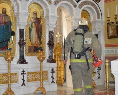 В канун Пасхи в Херсонесе горел собор
