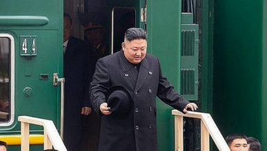 Ким Чен Ын впервые приехал в Россию (ВИДЕО)
