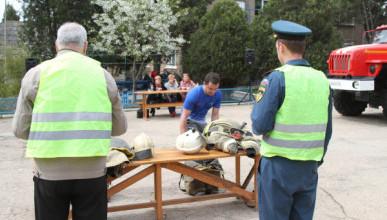 Кто стал лидером среди пожарных Севастополя? (ФОТО)