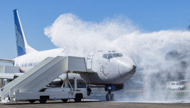 Специалисты спасли пассажиров из «пылающего» самолета в аэропорту «Симферополь» (ВИДЕО)