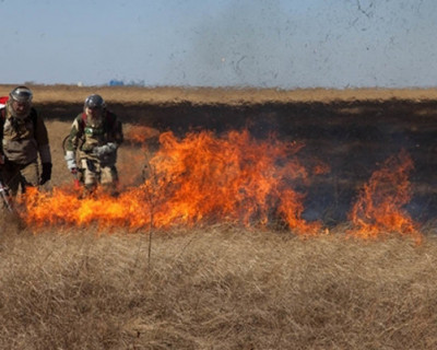 Природный пожар в Амурской области угрожает космодрому «Восточный»