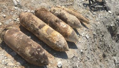В Севастополе уничтожили шесть бомб