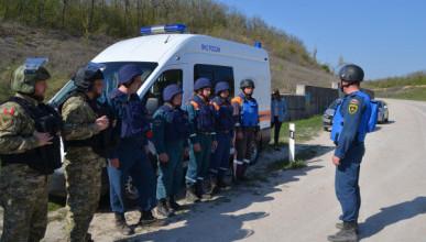 В Севастополе на месте уничтожили бомбу