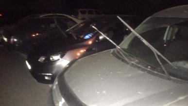 В Севастополе поймали автомобильного вандала