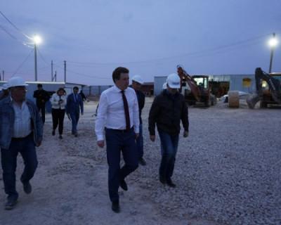 Строительство двух новых школ в бухте Казачья идет по графику