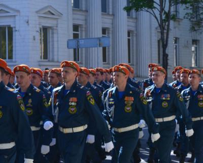 В Севастополе торжественно отметили 370-летие пожарной охраны России