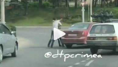 В Севастополе подрались два автомобилиста
