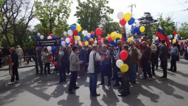 «ИНФОРМЕР» выяснил, кто пришел в Севастополе на Первомай добровольно (ФОТО, ВИДЕО)