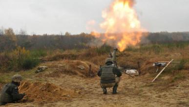 В праздничный день по окраине Донецка нанесён мощный миномётный удар