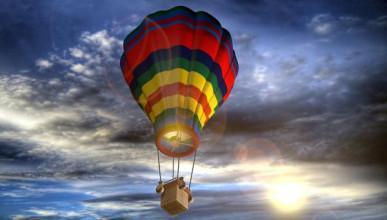 Следователи Крыма выясняют, почему девочка улетела на воздушном шаре (ВИДЕО)