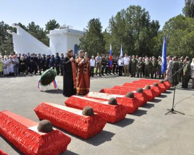 В Севастополе перезахоронили 159 защитников города